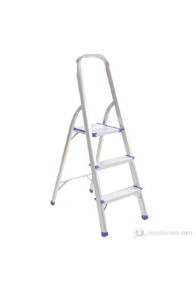3 Basamaklı Alüminyum Merdiven R16003