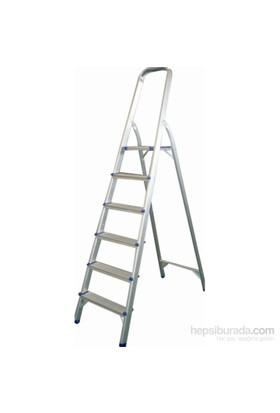 Rem 6 Basamaklı Paslanmaz Çelik Merdiven