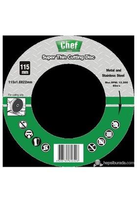 Chef Metal Kesme Diski İnce 115X1.0X22.2Mm