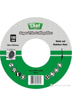 Chef Metal Kesme Diski İnce 180X1.9X22.2Mm