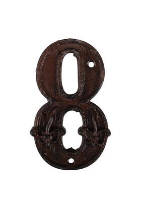 House2Home Antik Döküm Koleksiyon - Kapı Numarası - 8