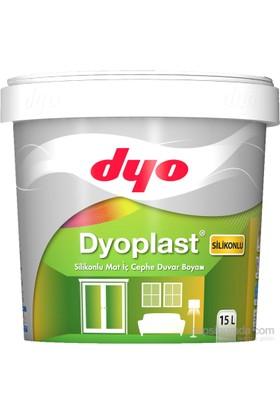Dyoplast Silikonlu Mat İç Cephe Duvar Boyası 15 Lt. - 5174 Yeni Kesekağıdı