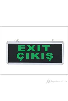 Ledli Çıkış-Exit Yönlendirme Armatürü (Kapı Üstü)