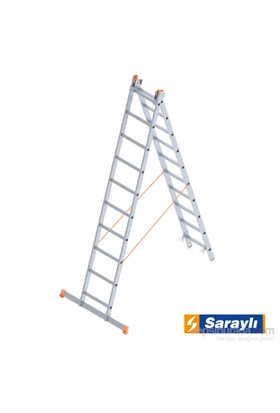 Saraylı Endüstriyel Merdiven 2X10 A Tipi 4,6 Metre