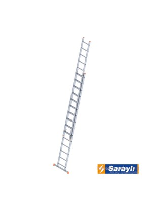 Saraylı Endüstriyel Merdiven 2X15 Sürgülü 7,3 Metre