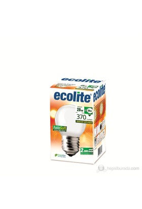 Ecolite Halosoft Enerji Tasarruflu Akkor Halojen Ampul 28W Soft