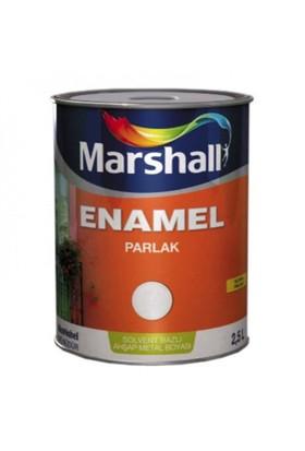 Marshall Enamel Parlak Sentetik Yağlı Boya 0,75 Lt Bayrak Kırmızı