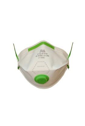 Ffp1 Ventilli Toz Maskesi Katlanır Tip 20 Adet