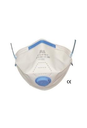 Ffp2 Ventilli Toz Maskesi Katlanır Tip 20 Adet