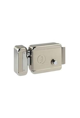 Yale Elektrikli Tirajlı Kilit (Otomat) - Saten - 70 mm Silindir Boyu
