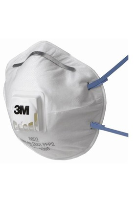 3M 8822 Ventilli Toz Maskesi FFP2