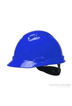 3M H700 Enseden Ayarlı Vidalı UV'li Mavi Baret