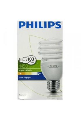 Philips EconomyTwister 23W Beyaz Işık E27 Normal Duy
