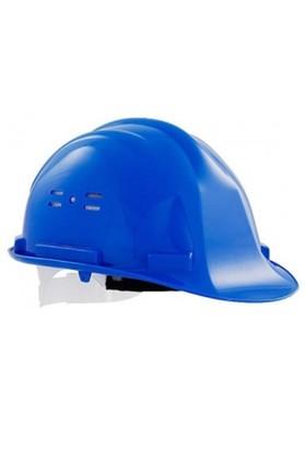 Essafe 1540 Ce'li Hava Delikli Kulaklık Takılabilir Baret Mavi