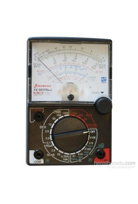 Mastech Yx 360 Analog Multimetre