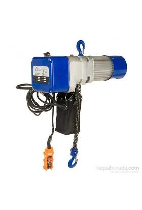Atlas Atzcs1 Elektrikli Zincirli Vinç Sıvı Yağlıtrifaze 380Volt 1 Ton Kapasite