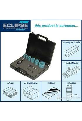 Eclipse Ee30k Hss Delik Açma Testere Seti 9 Parça (Plastik Çantalı)
