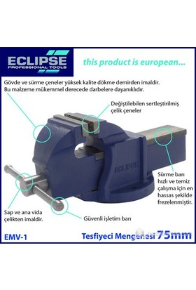 Eclipse Emv-1 Tesfiyeci Mengenesi 75 Mm