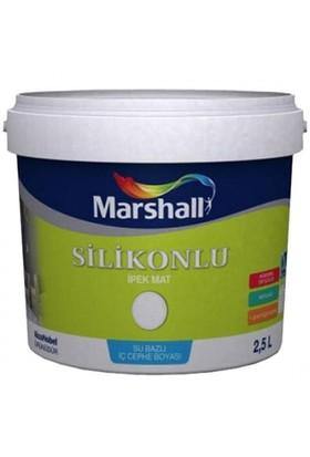 Marshall Silikonlu İpek Mat 2,5 Lt Fildişi