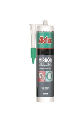 Akfix Ayna Slikonu % 100 Nötr 360 Gram 150074