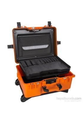 Mano Mtc 460Bt Turuncu - Bez Takım Dizmeli +Plastik Bölmeli Tough Case Pro Takım Çantası