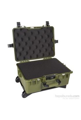 Mano Mtc 460C Yeşil - Yumurta Sünger + Kare Lazer Kesim Süngerli Tough Case Pro Takım Çantası