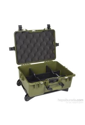 Mano Mtc 460Pl Yeşil - Yumurta Sünger + Plastik Bölmeli Tough Case Pro Takım Çantası