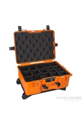 Mano Mtc 460P Turuncu - Yumurta Sünger + Bez Bölmeli Tough Case Pro Takım Çantası