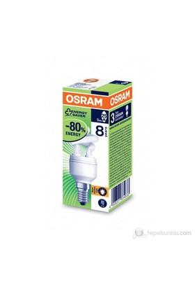 Osram Duluxstar Mini Twist 5W/825 E14 - Spiral Lamba- Sarı Işık
