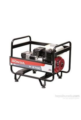 Honda H 2700 İpli 2.7 Kva Benzinli Jeneratör