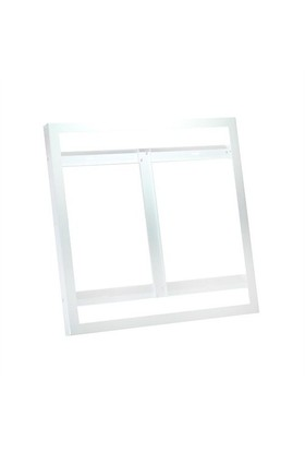 Lamptime 60 x 60 cm Panel İçin Sıva Üstü Kasa Beyaz