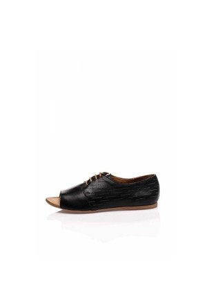 Bueno Siyah Ofis Kadın Şık Ayakkabı