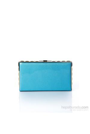 Mçs By14a002 Blue Abiye Çanta