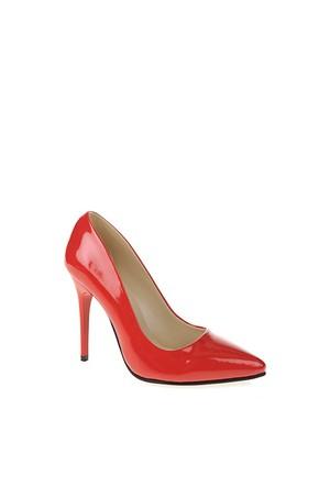 Derigo Kırmızı Rugan Kadın Ayakkabı 231804