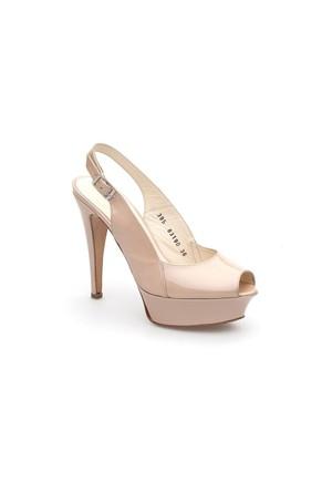 Pedro Camino Kadın Klasik Ayakkabı 83190 Bej