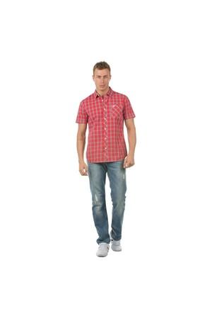 Colin's Kırmızı Erkek Gömlek Kısa Kol
