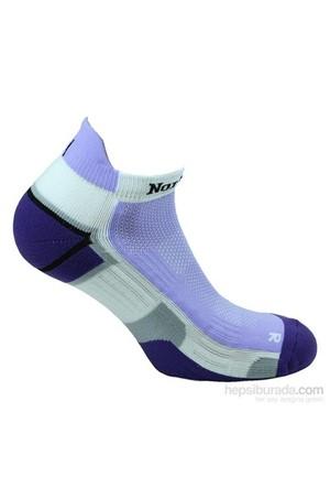 Norfolk Kadın Koşu Çorabı Mor
