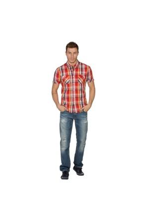 Colin's Oranj - Turuncu Erkek Gömlek Kısa Kol