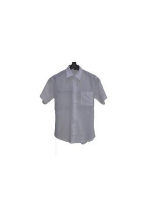 Eliş Şile Bezi Kısa Kol Gömlek