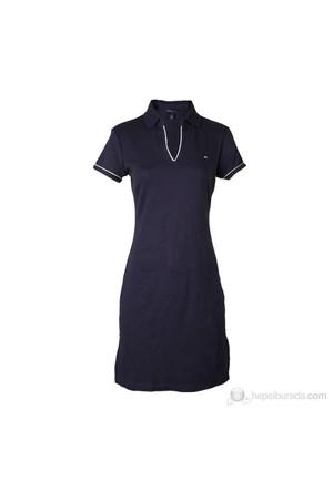 Tommy Hilfiger Kadın Elbise Lacivert
