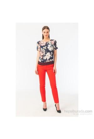 Naramaxx 316 Kırmızı Kadın Pantolon