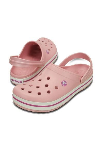Crocs 11016-6MB M4/W6 - 36/37 Crocband Pembe-Beyaz-Pembe