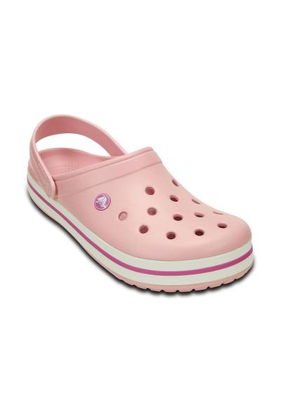 Crocs 11016-6MB M5/W7 - 37/38 Crocband Pembe-Beyaz-Pembe