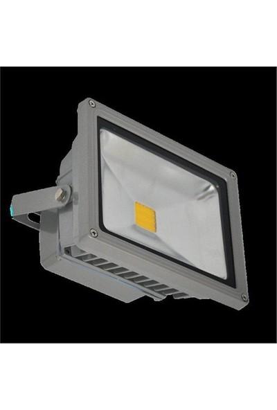 1X30 W Led Projektör - Ilık Beyaz