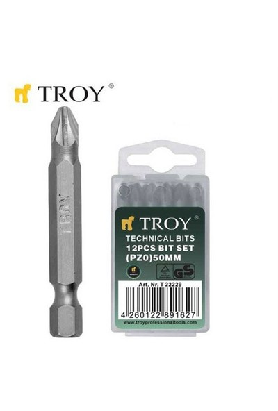 Troy 22231 Bits Uç (Pz2x50mm)