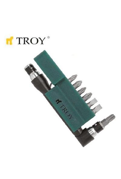Troy 22290 Bits Uç Seti (T-Saplı)