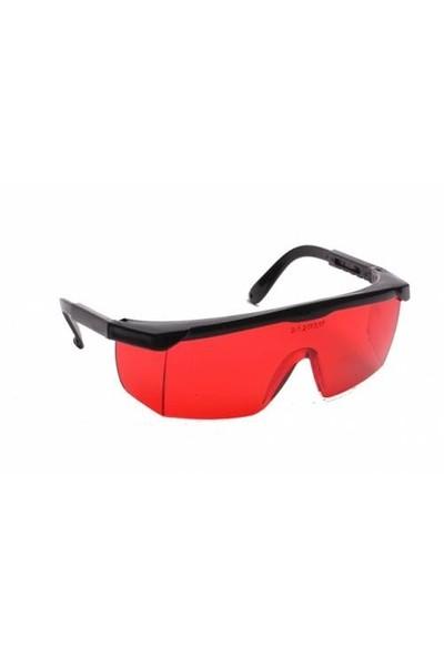 A2 Kırmızı Camlı Koruyucu Gözlük