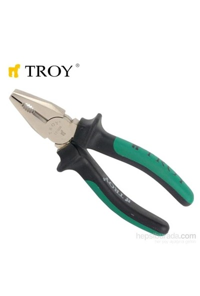 Troy 21007 Kombine Pense (180 Mm)