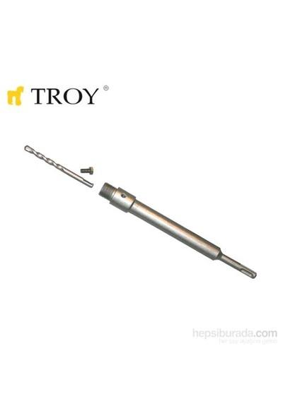 Troy 27466 Sds Plus Adaptör 250Mm Ve Merkezleme Matkap Ucu Seti