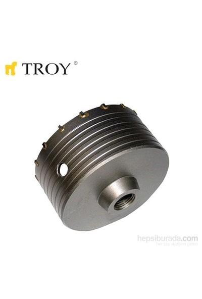 Troy 27470 Tungsten Karpit Beton Panç (Ø 120Mm) - Adaptörü Ayrı Satılır